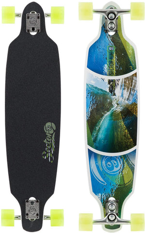 Sector 9 Sidewinder - Surf Fractal 16 Black/White - Surf' in Monkeys School & Shop