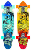Sector 9 Sidewinder - Surf Getaway Blue/Red - Surf' in Monkeys School & Shop