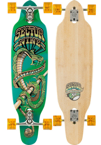 Sector 9 Sidewinder - Surf Striker Green/Red - Surf' in Monkeys School & Shop