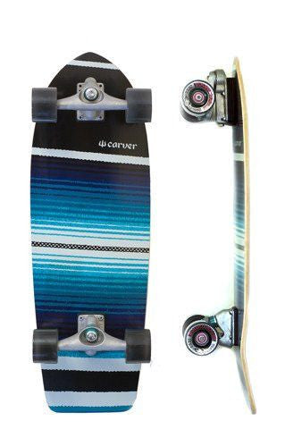 "Carver Skateboards 29.75"" Serape - Surf' in Monkeys School & Shop"