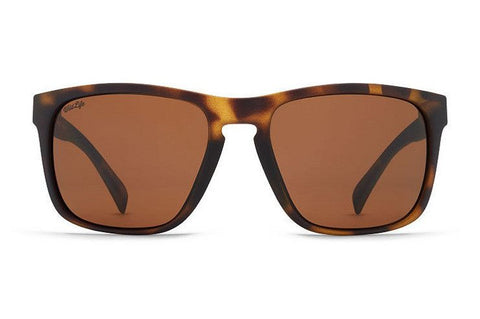 Vonzipper Lomax Sunglasses - Tortoise Satin/Vintage Grey - Surf' in Monkeys School & Shop