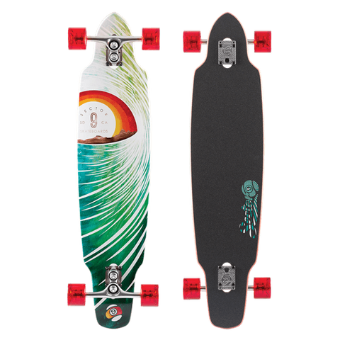 Sector 9 Sidewinder - Surf Horizon 15 Red/Green - Surf' in Monkeys School & Shop