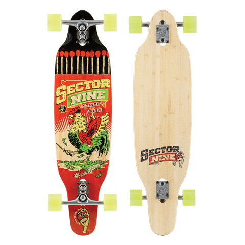 Sector 9 Sidewinder - Surf Striker 16 Red/Blue - Surf' in Monkeys School & Shop