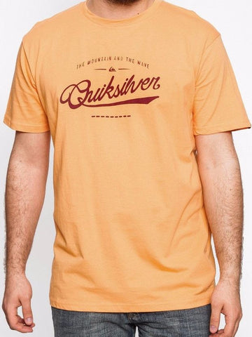 Quiksilver Shd Ct Crimwave T-shirt - Orange - Surf' in Monkeys School & Shop