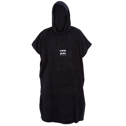 Billabong Vader Poncho Hoodie Towel - Black - Surf' in Monkeys School & Shop