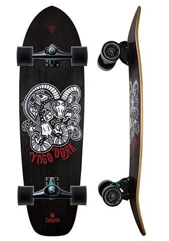 "Carver Skateboards 33.75"" Yago Dora - Surf' in Monkeys School & Shop"