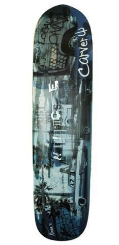 "Carver 36"" Venice Blue Deck - Surf' in Monkeys School & Shop"