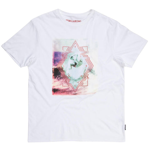 Billabong Volt T-shirt - White - Surf' in Monkeys School & Shop