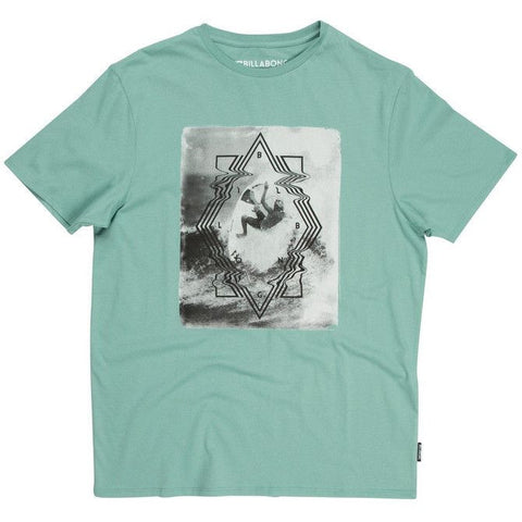 Billabong Volt T-Shirt - Smoke Jade - Surf' in Monkeys School & Shop