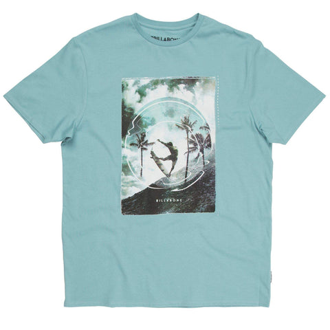 Billabong Elevation T-shirt - Dark Haze - Surf' in Monkeys School & Shop