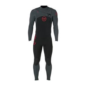Xcel Men Wetsuit Infiniti X2 4/3 Chest Zip - Gun Metal - Surf' in Monkeys School & Shop