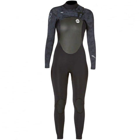 Xcel Women Infiniti TDC X2 4/3 Chest Zip - Black/Grey - Surf' in Monkeys School & Shop