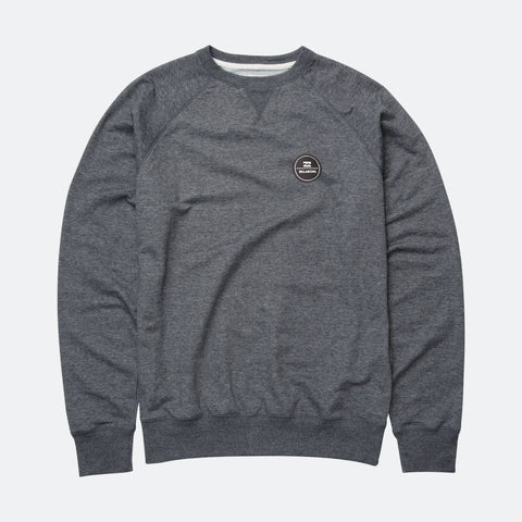 Billabong All Day Crew - Dark Grey Heath - Surf' in Monkeys School & Shop