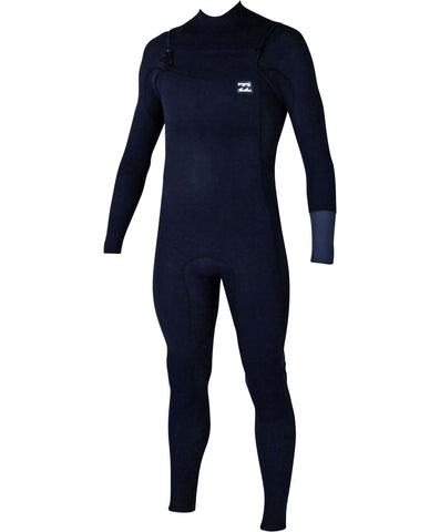 Billabong 4/3 Men Wetsuit Revolution Tri-Bong Chest Zip Grey/Rust - Surf' in Monkeys School & Shop