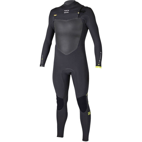 Billabong 4/3 Men Wetsuit Furnace Carbon X Chest Zip Citrus - Surf' in Monkeys School & Shop