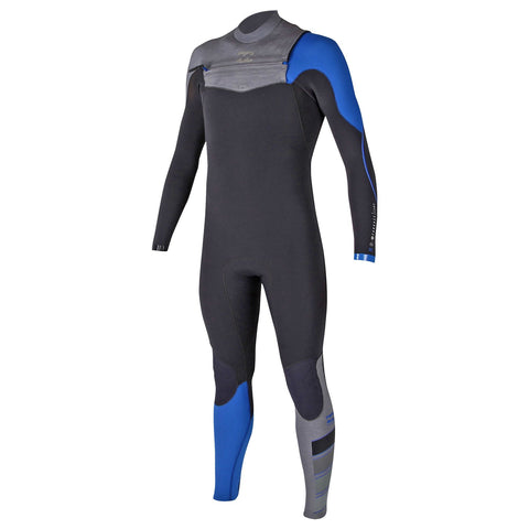 Billabong 4/3 Men Wetsuit Furnace Carbon Comp Chest Zip Orange/Ocean - Surf' in Monkeys School & Shop