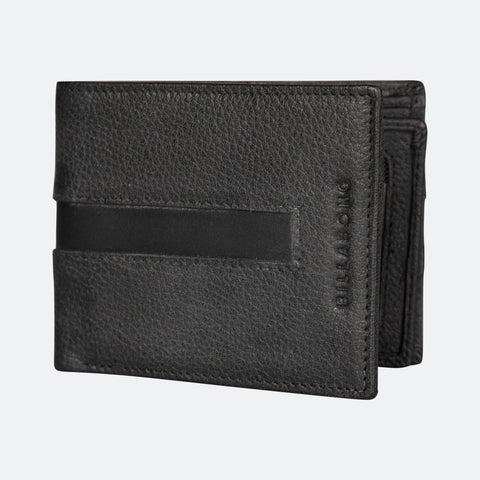 Billabong Empire Snap Wallet - Char/Choc/Black - Surf' in Monkeys School & Shop