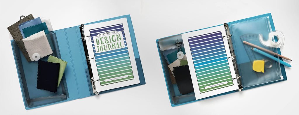 Customize your Mini-Size DIY Design Journal with a mini-binder