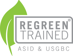 REGREEN Trained Official Certification Mark