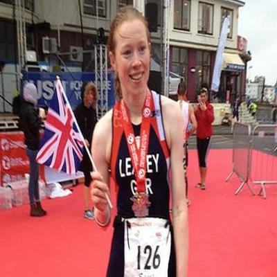 Challenge Weymouth - ETU Long Distance Champs - Sarah Leakey
