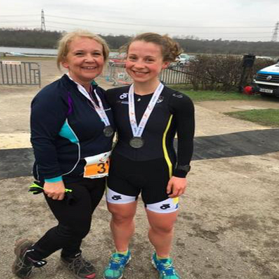 Rother Valley Sprint Duathlon - Rebecca Smith