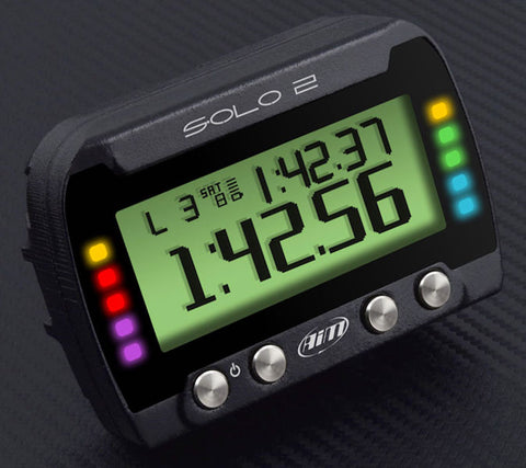 AiM Solo2DL On-Board Lap Timer, CAN / RS232 ECU Wiring