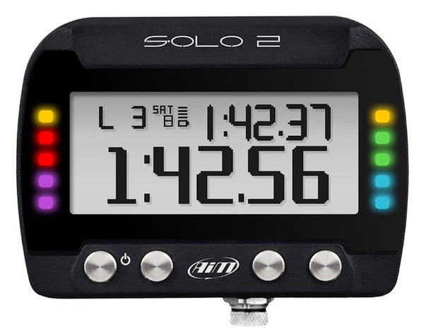 AiM Solo2DL On-Board Lap Timer, OBD-II (CAN/K-Line) ECU Plug