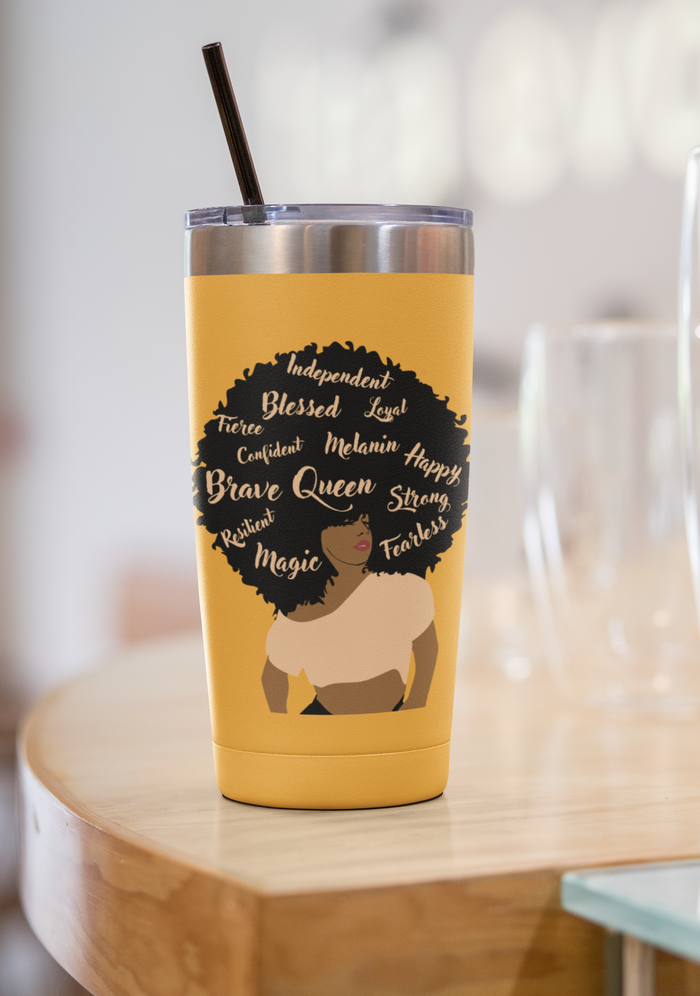 Black Queen  20 oz Tumbler