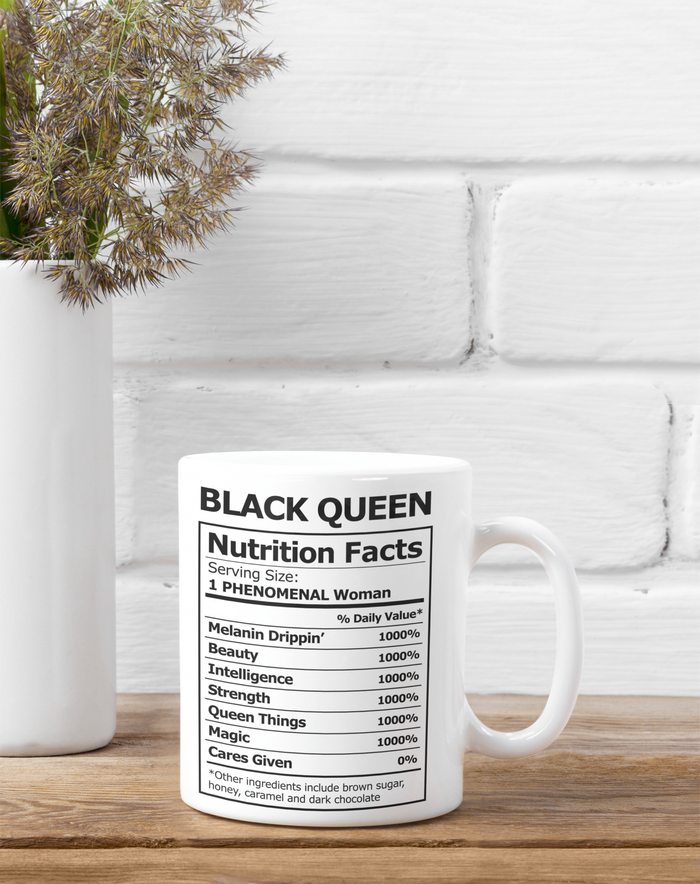 Nutritional Queen 11oz Mug