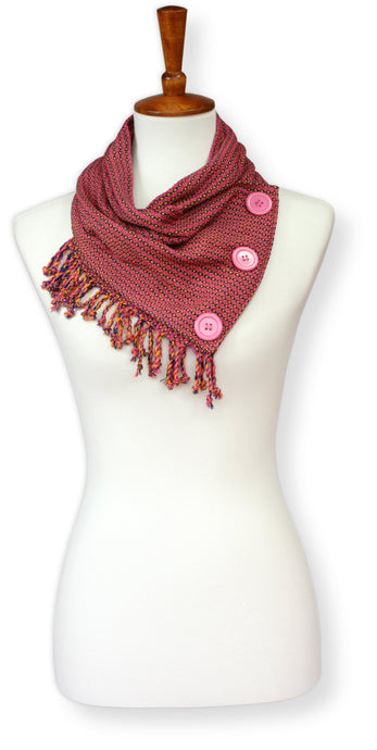 Pinky Pink Cotton Cowl