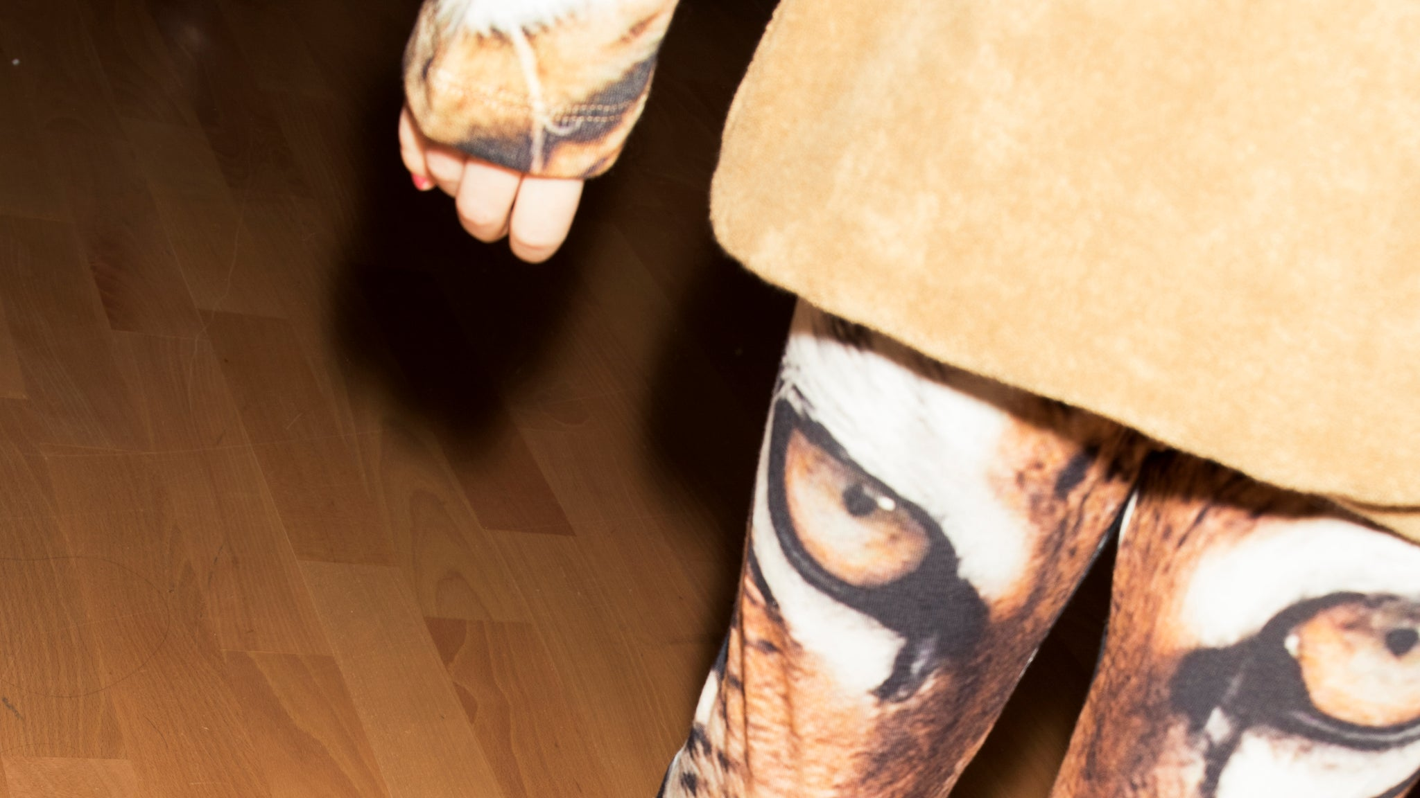 Popupshop tiger leggings model