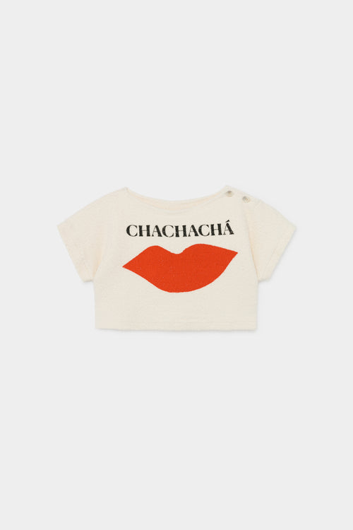 Bobo Choses UK Chachacha Kiss Cropped Sweatshirt