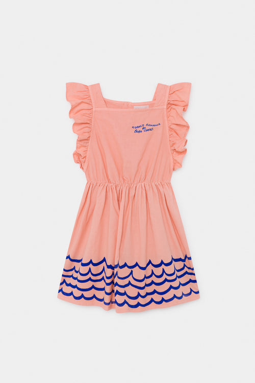 Bobo Choses UK Waves Woven Ruffle Dress