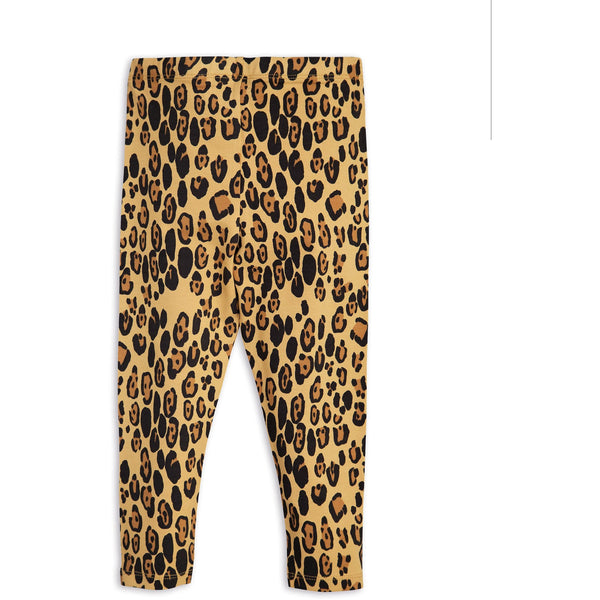 POPS & OZZY | Mini Rodini basic leopard leggings back