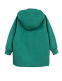 Mini Rodini Green Pico Jacket, back | POPS & OZZY
