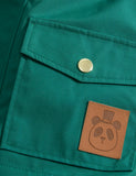 Mini Rodini Green Pico Jacket, detail | POPS & OZZY