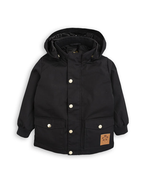 Mini Rodini Black Pico Jacket | POPS & OZZY