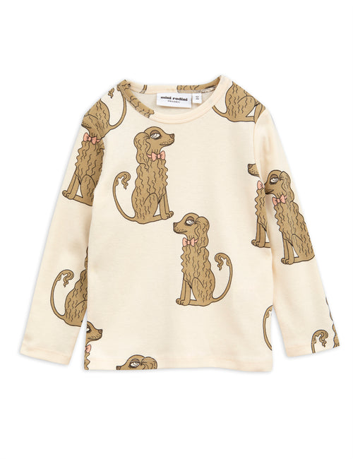 Mini Rodini Spaniels Long Sleeved T-shirt | POPS & OZZY