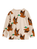 Mini Rodini Wild Ducks Grandpa Shirt, back | POPS & OZZY