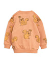 Mini Rodini Squirrels Sweatshirt, back | POPS & OZZY