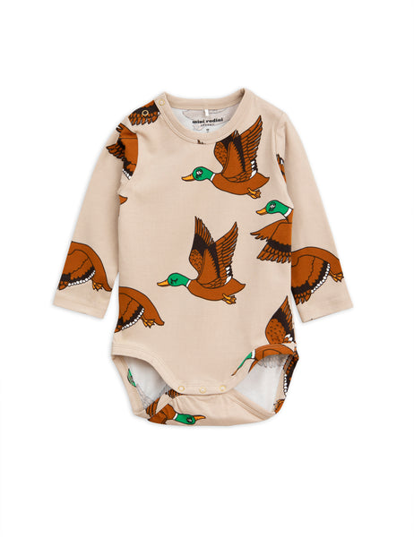 Mini Rodini Wild Ducks Bodysuit | POPS & OZZY