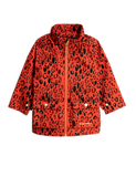 Red Leopard Piping Jacket Mini Rodini | POPS & OZZY