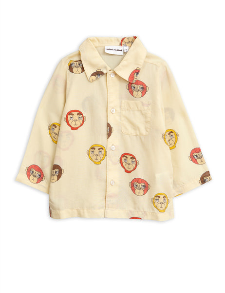 Monkeys Woven Blouse Mini Rodini | POPS & OZZY