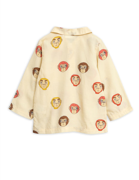 Monkeys Woven Blouse Mini back Rodini | POPS & OZZY