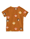 Monkeys T Shirt Back Mini Rodini POPS & OZZY
