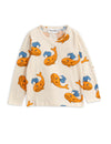 Mini Rodini Whale Long Sleeved T Shirt | POPS & OZZY