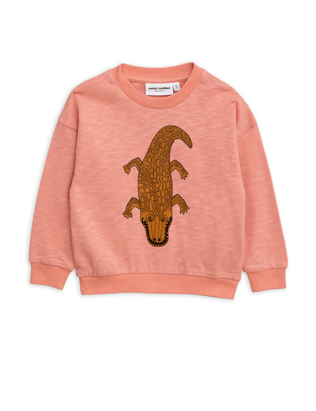 Pink Crocodile Sweatshirt Mini Rodini | POPS & OZZY