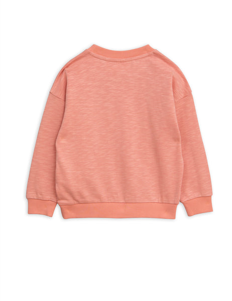 Pink Crocodile Sweatshirt back Mini Rodini | POPS & OZZY