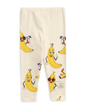 Bananas all over print leggings back Mini Rodini | POPS & OZZY