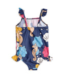 Mini Rodini Seahorse Wing Swimsuit back | POPS & OZZY